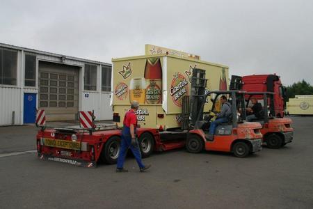 Ausschankwagen nach Äthiopien geliefert