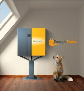 Schlaue Speicherlösung für Solarstrom: Der EnergieFuchs® von ANTARIS SOLAR - BILD: ANTARIS SOLAR