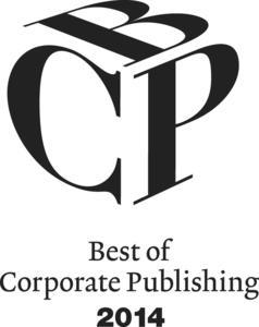 "Best of Corporate Publishing Award 2014 (BCP)"" Logo"