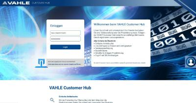 VAHLE Customer Hub