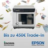 Epson startet zur CeBIT Trade-In Aktion für Discproducer