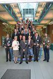 Die stolzen Preisträger mit dem Geschäftsführer (vorne in der Mitte) der SKZ-Zertifizierungen Dipl.-Ing. Robert Schmitt