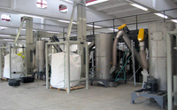 hamos KRS recycling line for WEEE plastics: Wet separation