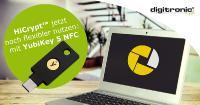 HiCrypt™ Professional jetzt auch mit YubiKey 5 NFC