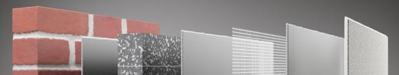 """Das Zweimaleins der Innendämmung: Systemaufbauten Capatect IDS mit Innendämmplatte """"Aktiv"""" vs. Innendämmplatte """"Mineral"""" (Foto: Caparol Farben Lacke Bautenschutz)"""