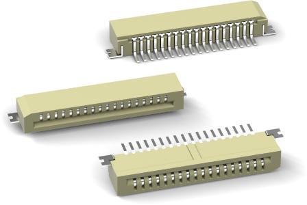WR-FPC mit horizontaler Steckrichtung, Bildquelle: Würth Elektronik