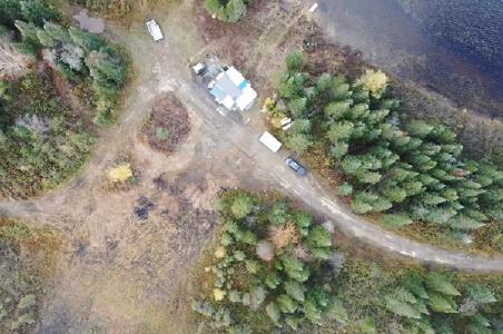 Camp King Tut aus der Luft; Quelle: BMEX Gold