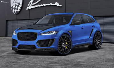 LUMMA Design turns the new Jaguar F-PACE up a notch