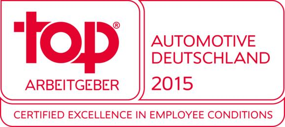 Top Employer Automotive 2015