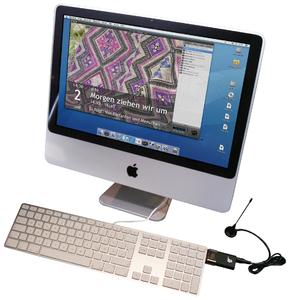 DVB-T-Stick angeschlossen am Mac