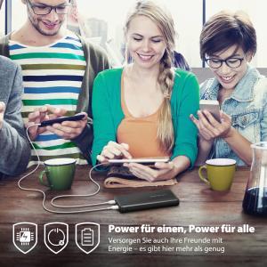 Neue Powerbank von RAVPower versorgt Smartphones mit nahezu endloser Energie