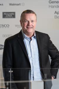 Kündigte die globale Vereinbarung mit AutoStore® an: Jeff Moss, CEO von Dematic International. (Foto: Dematic)