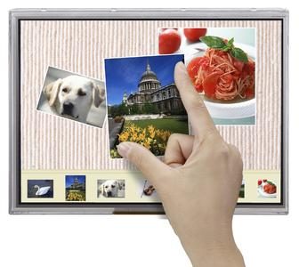 NLT Technologies projective capacitive (PCAP) touch panel displays now available in more than 30 different versions