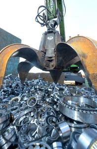 Counterfeit rolling bearings of various types and sizes with a value of more than one million euros were scrapped at INTERSEROH