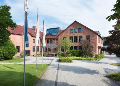 Der Firmensitz der LAND-DATA GmbH in Visselhövede