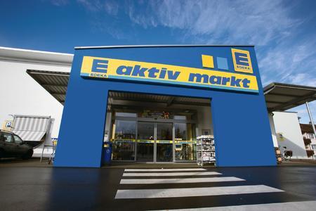EDEKA Aktiv Markt in Calw, einer von neun Einzelhandelsfilialen der Verbrauchergenossenschaft Calw eG