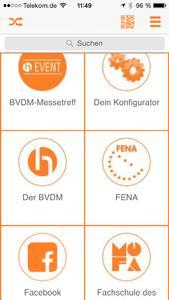 Die mobile Zukunft mit Beacons und App bei IWOfurn live auf der imm Köln erleben