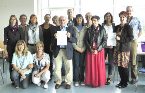Ausgebildete Mediatoren an der Hochschule Koblenz