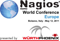 Die Nagios World Conference Europe™ am 12. Mai in Bozen