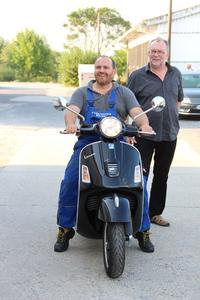 Zusammen mit seinem Chef Helfried Wetzel (rechts) wird Frank Lippert auch 2017 wieder die ISH besuchen.