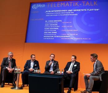 Telematik Talk zur transport logistic Online: Steigerung der Akzeptanz gegenüber Telematik im eigenen Betrieb