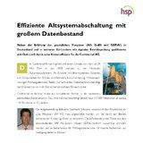 [PDF] Pressemitteilung: Effiziente Altsystemabschaltung mit großem Datenbestand