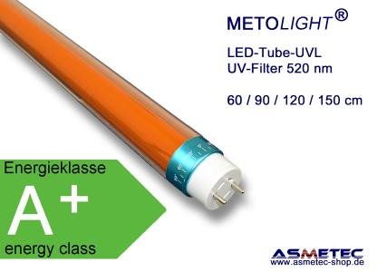 Metolight LED-UVL-Röhre, 520 nm