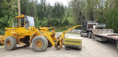 Mine Kenville: Stahl-Abzugskanal für das neue 257-Portal