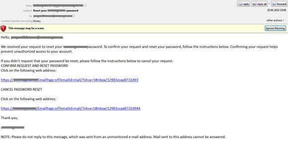 ULR malware