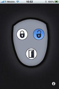 Türen öffnen mit KeyMatic touch via iPhone