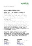 [PDF] Pressemitteilung: Georg Maurer treibt Weiterentwicklung von Alpensped voran