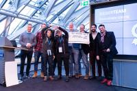 """Siegerteam in der Kategorie """"Innovativste Lösung"""": DMP-Blockchain"""