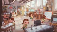 Roboy & Lucy: Erste Illustrationen