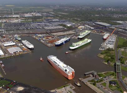 Autoterminal Bremerhaven weiter auf dem Vormarsch