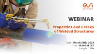 Prediction of material properties, cracks and deformations of welded structures