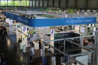 Der Gemeinschaftsstand der IHK Heilbronn-Franken auf der Hannover Messe / Foto: Schwarzer/IHK