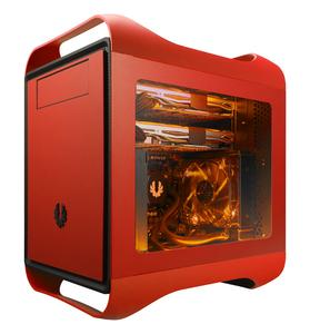 BitFenix Prodigy M Window Seitenteil - rot