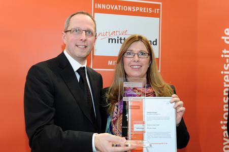 Martina Tomaschowski, Attensity Europe GmbH (Photo: Initiative Mittelstand)