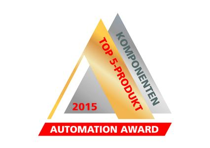 Logo Automation Award 2015 – TOP5-Produkt