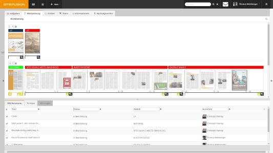 SiteFusion Zeitschriftenlösung