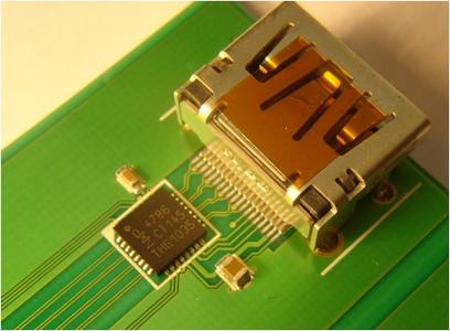 NXP IP4786 HDMI signal conditioning IC