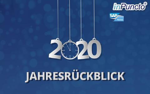 inPuncto Jahresrückblick 2020: SAP-Projekte & Herausforderungen in Corona-Zeiten
