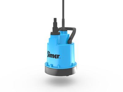 Die SIMER Pumpe von Pentair Jung Pumpen ist ein nützliches mobiles Werkzeug für viele In- und Outdoor-Anwendungen (Foto: Pentair Jung Pumpen, Steinhagen)