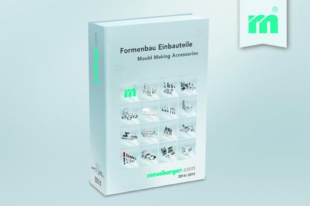 More than 14,000 accessories for mould making in Meusburger's new catalogue Accessories 2014|2015
