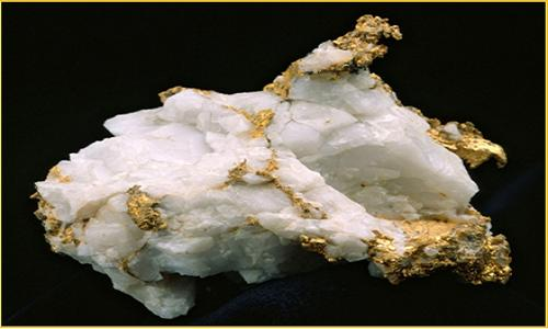 Goldvererzung / Foto: Kalamazoo Resources