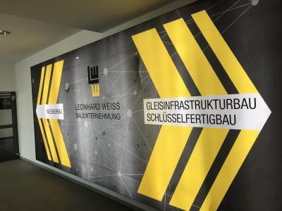 Die neue Heimat von LEONHARD WEISS in der Frankenstraße teilen sich der Gleisinfrastrukturbau, der Schlüsselfertigbau sowie der Ingenieurbau - die Büroräumlichkeiten bieten Platz für 25 weitere Beschäftigte.