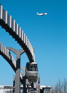 SkyTrain at the Düsseldorf International Airport (Source: Andreas Wiese, Düsseldorf International)