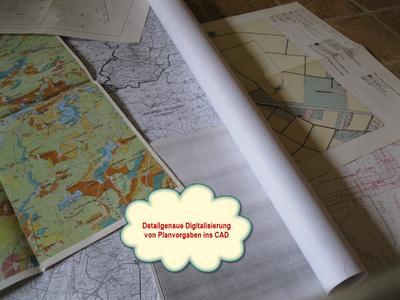 Detailgenaue Digitalisierung von Planvorgaben ins CAD