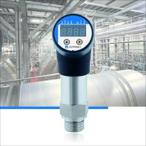 The new AFRISO EDS 10 electronic pressure switch converts the pressure of liquid or gaseous media into an electrical signal. EDS 10 allows the user to define up to two selectable points for switching / switching back