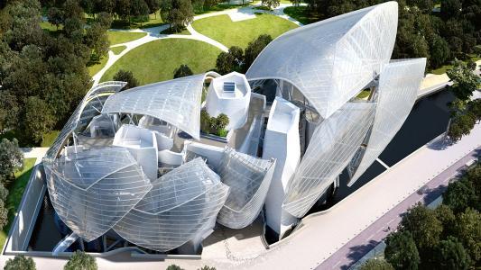 Fondation Louis Vuitton by TESS